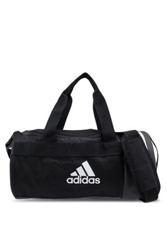 2feae848d9 adidas black adidas 3-stripes convertible xs duffel bag 92B28AC34C7686GS 1