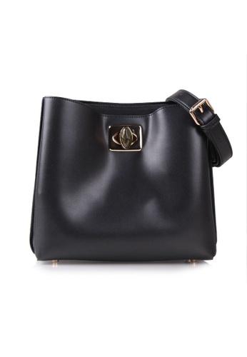 VOIR black VOIR Knot Shoulder Bag - Black F5C09AC8345A1BGS_1