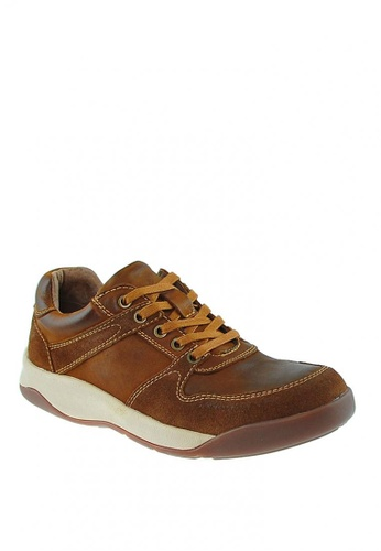Hush Puppies brown Summit Lace up M E9A88SHF9DF705GS_1