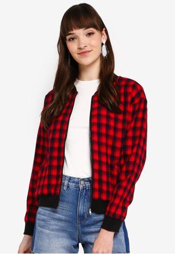 b792fa316 Checkered Jacket