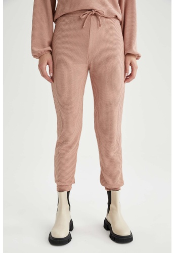 DeFacto pink Woman Knitted Trousers 41A67AAAD2DDFBGS_1