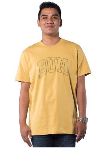 Bum Equipment yellow B.U.M Equipment Men Round Neck Tee-S/S (MD. YELLOW) BU054AA0RHCCMY_1