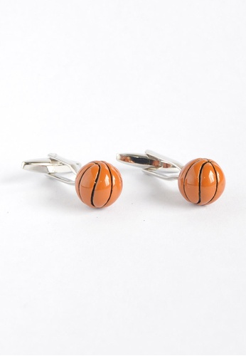 Splice Cufflinks Basketballs Cufflinks SP744AC86XZTSG_1