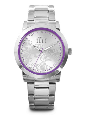 ELLE purple Fashion Ladies Watch SP241AC53LQCMY_1