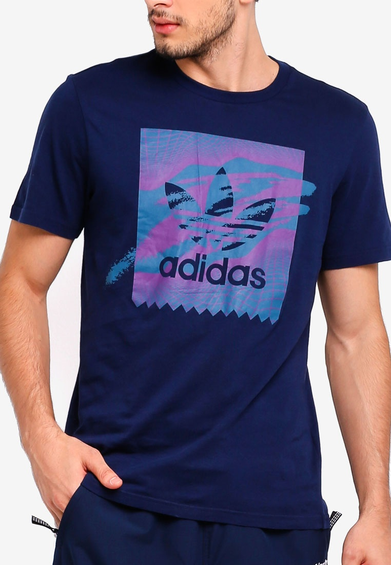 S18 originals adidas tee Collegiate Tribe tennis Purple adidas bb Navy Real Teal pOO6PWn