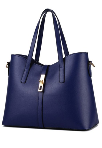 TCWK blue Ladies Handbag TC258AC87GCMMY_1