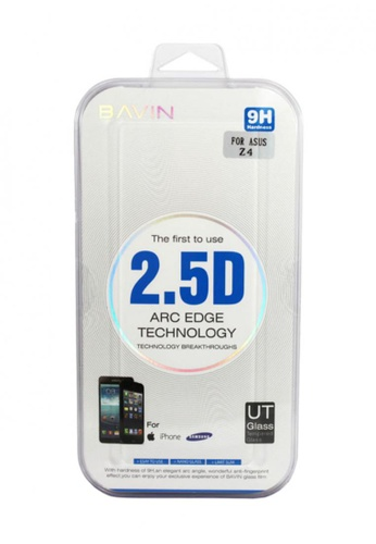BAVIN white Tempered Glass Screen Protector for ASUS Z4 28467AC7DC91B0GS_1