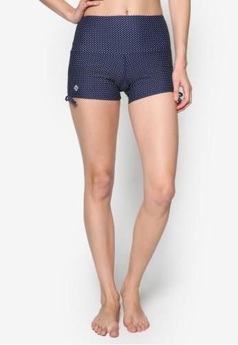 側esprit 香港繫帶素色游泳短褲, 服飾, 泳裝