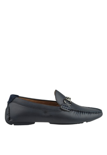 Antton & Co navy Antton & Co Eliza-Loafer In Navy 12282SH901BC96GS_1