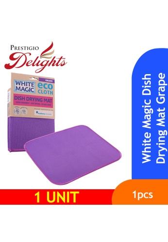 Prestigio Delights White Magic Dish Drying Mat Grape 0EE6AESD55F25AGS_1