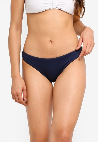 Seafolly blue and navy Seafolly Mini Hipster Bikini Bottom 92E03US863FB10GS_1