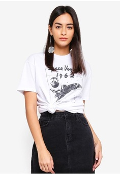 Psst... we have already received your request. TOPSHOP. Space Voyage T-Shirt e95d169c2