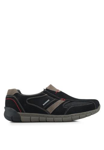 Weinbrenner black Slip-On Outdoor Shoes 80C1ESHD34704DGS_1