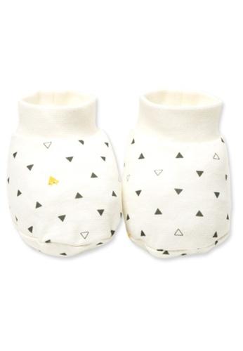 Organic mom beige Organic Geometry Socks (FALL/WINTER) 788C9KA194E0A8GS_1