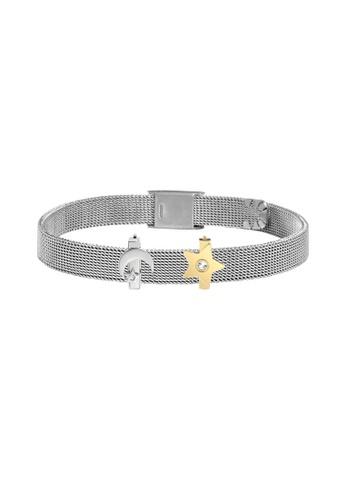 Morellato silver Morellato Sensazioni Steel PVD Rose Gold Crystals Ladies Bracelets SAJT76 2B45EACE806B45GS_1