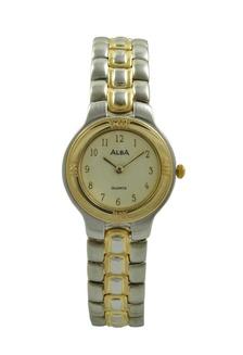 ALBA Jam Tangan Wanita - Silver Gold - Stainless Steel - ATAK36  AL383AC0U9U0ID 1 6718540c0b