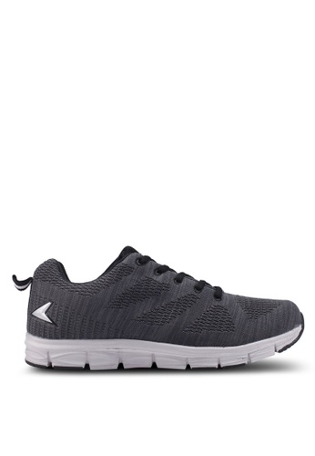 Power grey Knit Training Shoes 57DFCSHA98617AGS_1