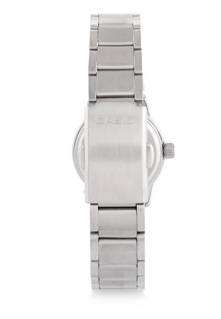 ... Casio Jam Tangan Wanita - Silver Black - Stainless Steel - LTP-1230D -1CDF