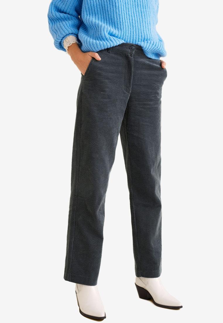 Grey Mango Corduroy Trousers Straight Trousers Mango Straight Grey Mango Corduroy gw4XX1EqZ