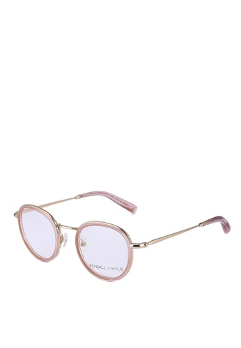 Kendall + Kylie pink Ryan Glasses 06977GL0FA8943GS_1
