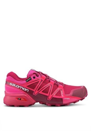 Salomon pink Speedcross Vario 2 Gtx W Shoes AB274SH740D72AGS_1
