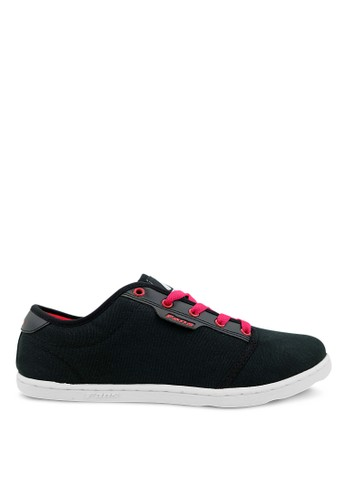 FANS black Fans Muller B - Casual Shoes Black Red FA469SH77PPUID_1