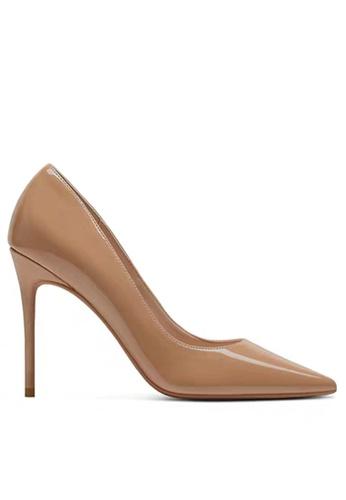Twenty Eight Shoes 10CM Faux Patent Leather High Heel Shoes D01-q 09D3CSH0E09366GS_1