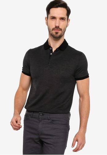 BOSS grey T-Parent 11 Polo Shirt 2F00FAAF41D4E5GS_1