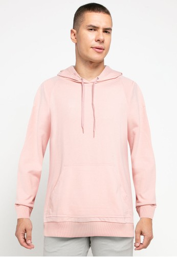 Tolliver pink Pull Over Hoodies E5075AA151D34AGS_1