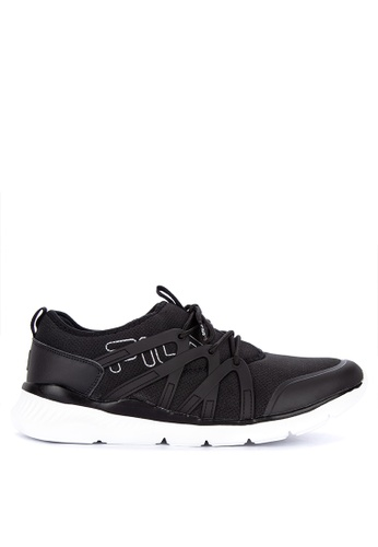 Fila black Tame Lite Running Shoes A09B6SH781DA23GS_1