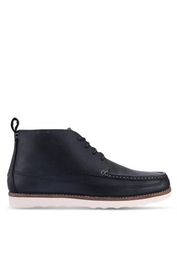 Burton Menswear London black Black Davis Chukka D5A03SHA43B1FEGS_1