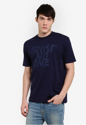 Factorie navy Original Heavy Amped Tee FA113AA72WRJID_1