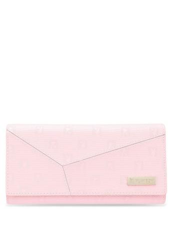 PLAYBOY BUNNY pink Playboy Bunny Ladies Tri-Fold Purse DFCEEAC6DC5F58GS_1
