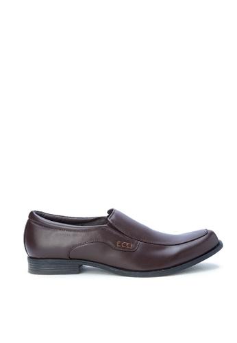 H2Ocean brown Gellert Formal Shoes H2527SH0KAJ5PH_1