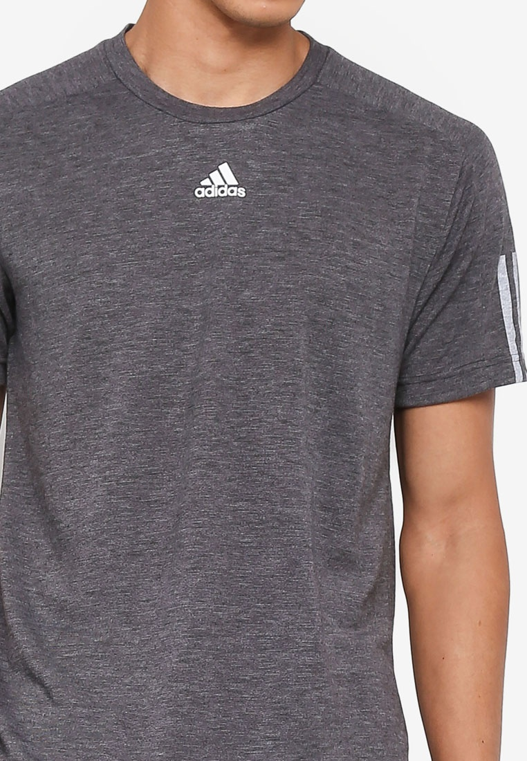 stadium tee id 3 Grey stripes adidas adidas 5BT4Hn