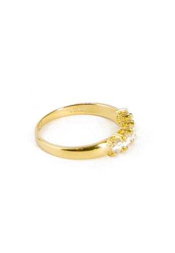 CEBUANA LHUILLIER JEWELRY gold 18 Karat Yellow Gold Lady Ring With Diamonds 872D2AC91FFAE9GS_1
