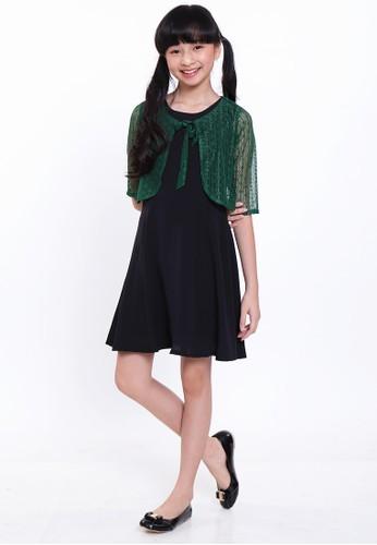 EXIT GIRL green Dapi 2in1 Brokat Dress 3BB19KA0659EA2GS_1