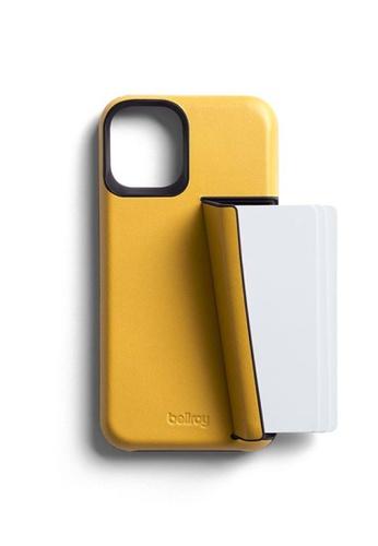 Bellroy yellow Bellroy Phone Case - 3 Card iPhone 12 Mini - Lemon 40CC1ACEC60963GS_1