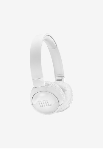 JBL white JBL T600BT NC Wireless Active Noise cancelling On ear Headphones 8133EAC2271B31GS_1