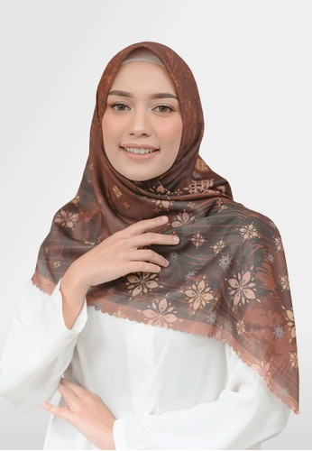 Authentism.id bronze Exclusive Scarf Collection - Sofia Series - Bestari B3B62AA7087207GS_1