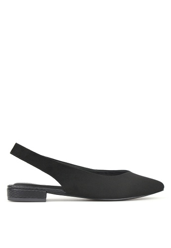Betts black Adventure Slingback Flats FA83BSHD1BD575GS_1