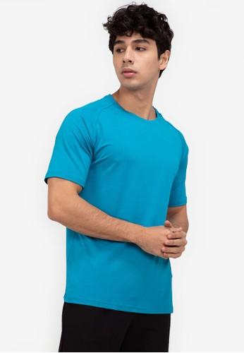 ZALORA ACTIVE blue Back Vent Panel T-Shirt AB47CAA554EFFDGS_1