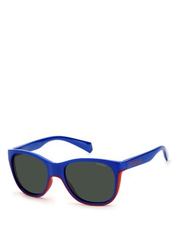 Polaroid Kids blue Polaroid 8043/S Sunglasses C80E6KC714E31DGS_1