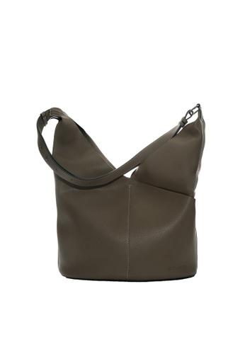 Renoma brown Renoma UP-PU Shoulder Bag BEBE5AC51F55C3GS_1