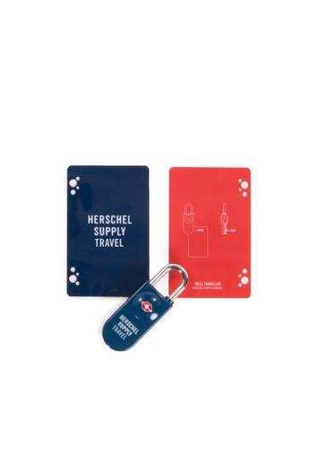 Herschel blue Herschel TSA Card Lock 9C860ACBDA49F1GS_1