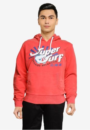 SUPERDRY pink Shapers N Makers Hoodie 4A330AA088BA3BGS_1
