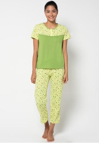 Puppy green Risa Sleepwear PU643AA25KBUID_1
