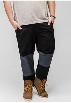7d029e6fbed79 JSMIX black Plus Size Singapore-Hit Color Mens Plus Size Causal Pants  9B59DAA33C8A7BGS 1