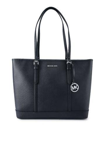 Michael Kors black Jet Shoulder Bag (nt) 8955AAC6700F3BGS_1