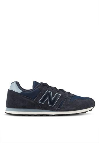 New Balance navy 373 Lifestyle Shoes 2F50ASH6F2DFA9GS_1